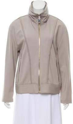 Trina Turk Long Sleeve Zip Front Jacket