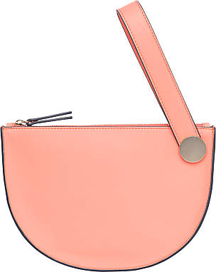 French Connection Reena Wrist Bag, Coral Sands/Gold