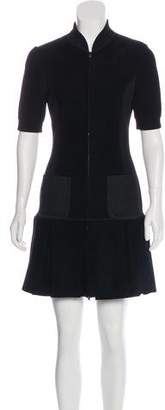 Fendi Knit A-Line Dress