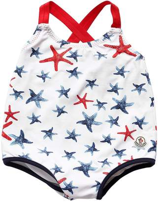 Moncler Printed Lycra One Piece Swimsuit