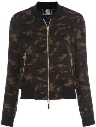 Thomas Wylde camouflage bomber jacket