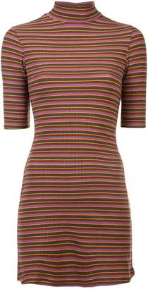 Reformation fitted mini dress