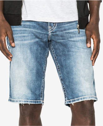 Silver Jeans Men's Zac Light Wash Denim Shorts