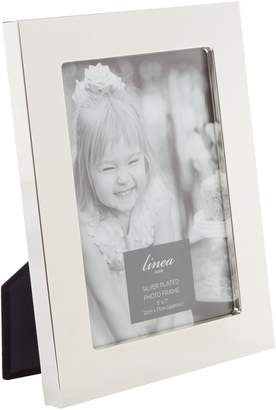 Linea Wide Silver plated 5x7 photo frame