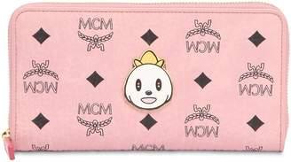 MCM Large Eddie King Zip Around Wallet
