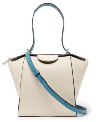 Danse Lente Adele Leather Shoulder Bag - Womens - White Multi