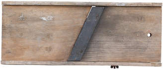 One Kings Lane Vintage Primitive Wood Food Slicer