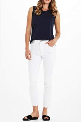 AG Jeans Isabelle White Pants
