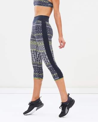 The Upside Ikat Neon Matte NYC Pants