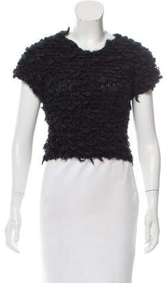 Timo Weiland Wool-Blend Crop Top