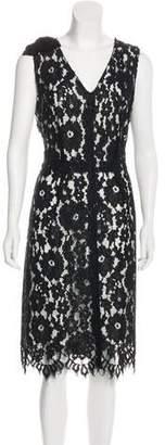 Marc Jacobs Lace Sheath Dress