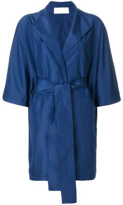 Gianluca Capannolo short-sleeve wrap coat