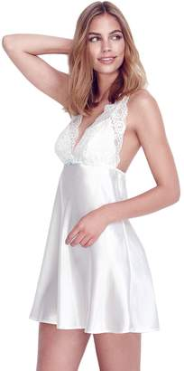 Flora Nikrooz Flora By Women's Flora by Emma Charmeuse Chemise