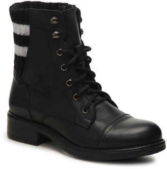 Steve Madden Azure Combat Boot - Women's