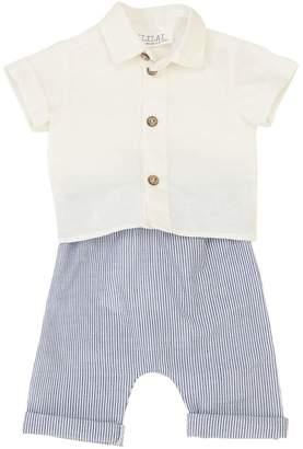 Opililai Cotton Muslin Shirt & Pants