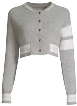 Zoe Jordan Edison Wool& Cashmere Crop Jacket