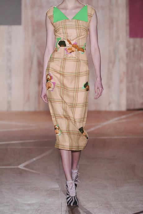 Roksanda Ilincic Finton embossed printed silk-blend dress