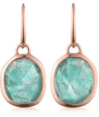 Women's Monica Vinader Siren Semiprecious Stone Drop Earrings $195 thestylecure.com