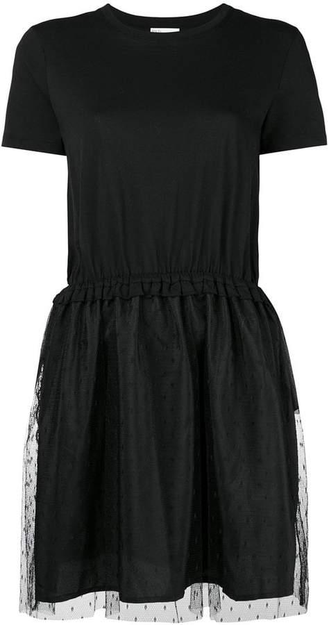tulle point d'esprit skirt T-shirt dress