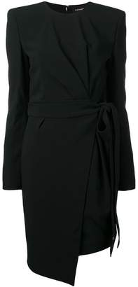 Alexandre Vauthier tie waist dress