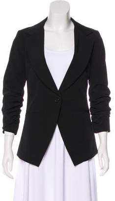 Elizabeth and James Lightweight Ruched Blazer