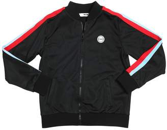 MSGM Track Jacket W/ Striped Bands