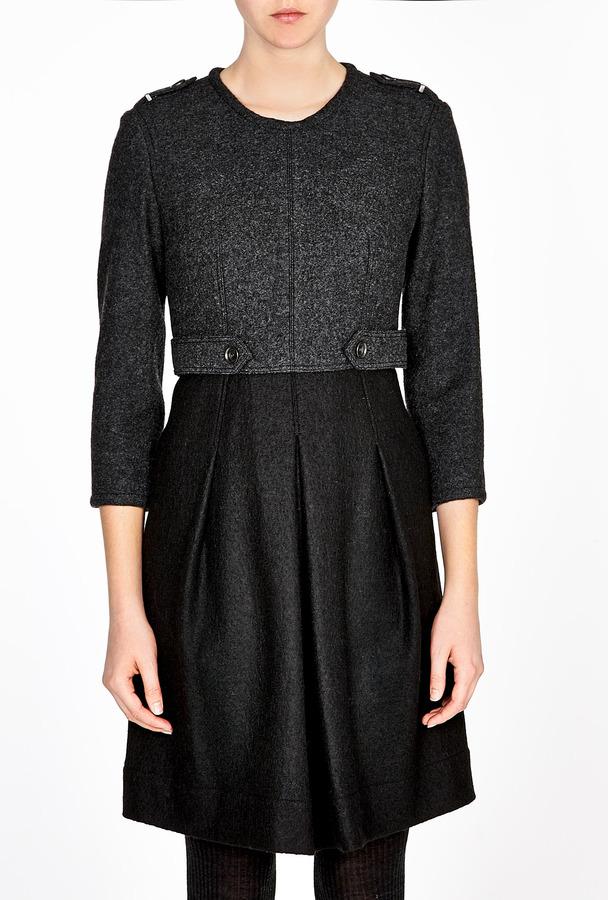 Burberry Military Wool Dress