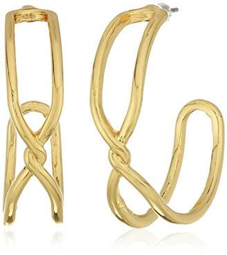 Anne Klein Twist Hoop Earrings
