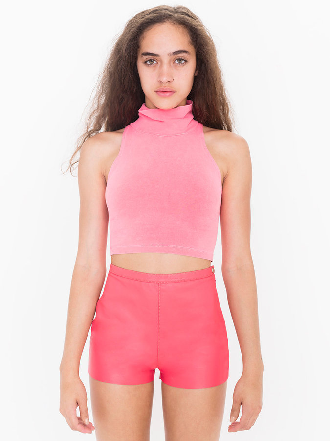 American Apparel Leather Tap Short