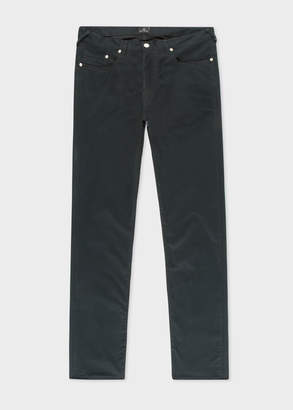 Paul Smith Men's Tapered-Fit Dark Green Denim Jeans