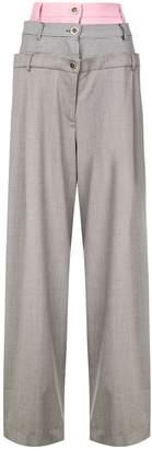Natasha Zinko layered style trousers