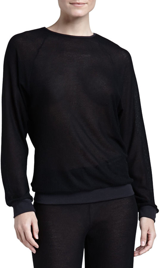 Cosabella Sinsonte Long-Sleeve Top