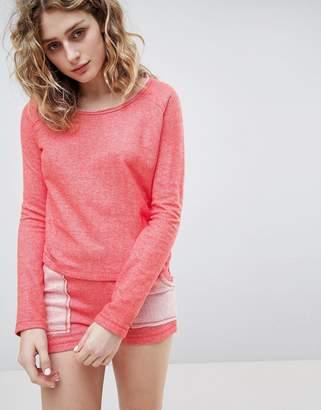 Lazy Days Coral Orange Short Pyjamas