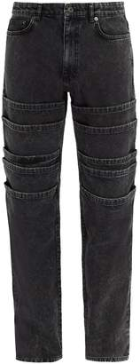 Y/Project Mid-rise tiered jeans