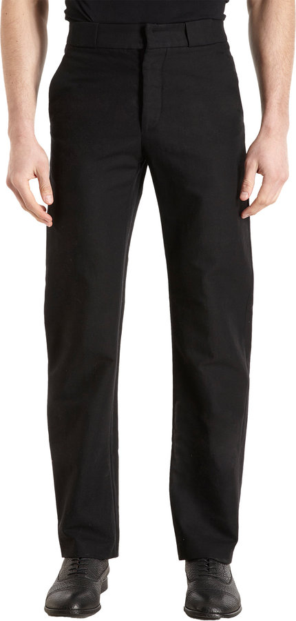 Maison Martin Margiela Loose Fit Bonded Trousers