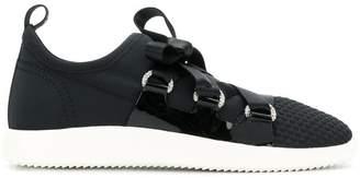 Giuseppe Zanotti Design slip-on ribbon tie sneakers