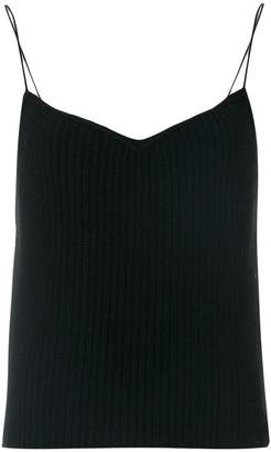 Theory ribbed knit top