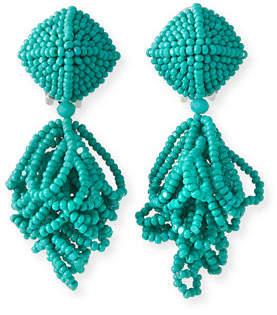 Sachin + Babi Mini Lulu Seed Bead Clip-On Earrings