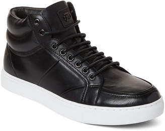 Zanzara Black Leather Tassel Sneakers