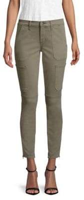 J Brand Skinny Cotton Utility Pants