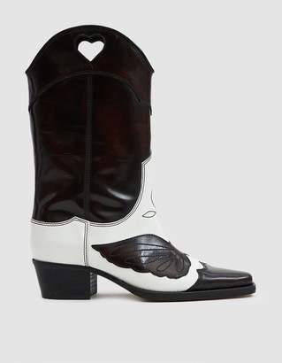 Ganni Marlyn Tall Cowboy Boot
