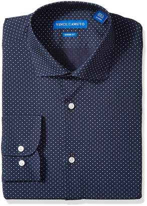 Vince Camuto Men's Modern Fit o Print Dress Shirt