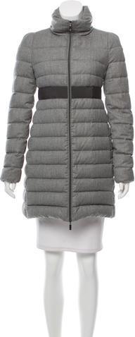 MonclerMoncler Sologne Wool Down Coat