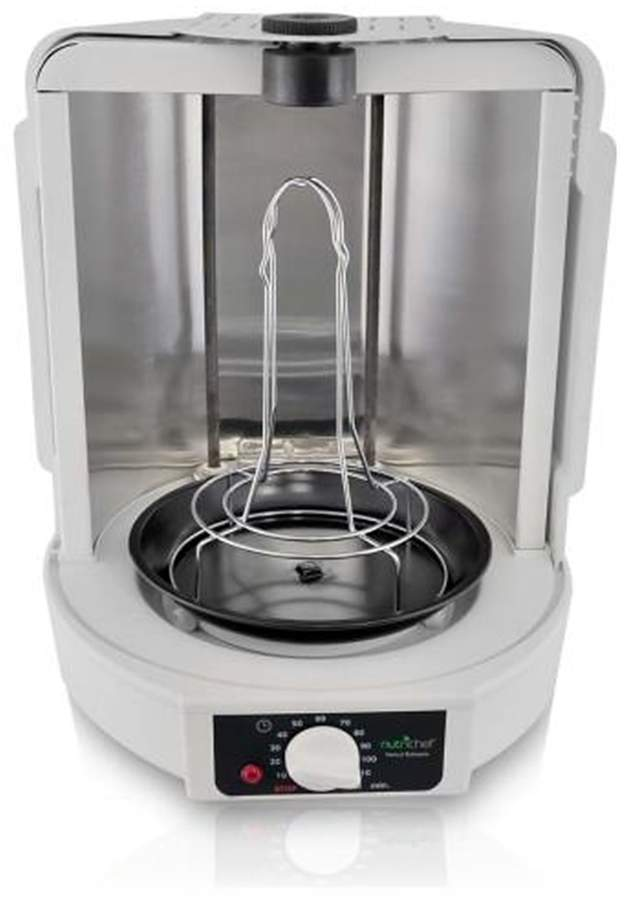 NutriChef Vertical Countertop Rotisserie Rotating Oven