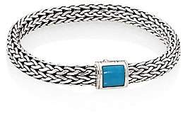 John Hardy Classic Chain Medium Turquoise & Sterling Silver Bracelet