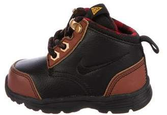 Nike Boys' Leather Jack Boots w/ Tags