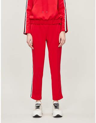 Markus Lupfer Kimmy sequin-embellished jersey jogging bottoms