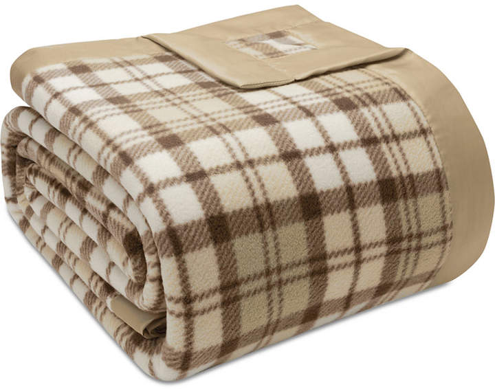 Sleep Philosophy True North by Sleep Philosophy Plaid Micro-Fleece King Blanket Bedding