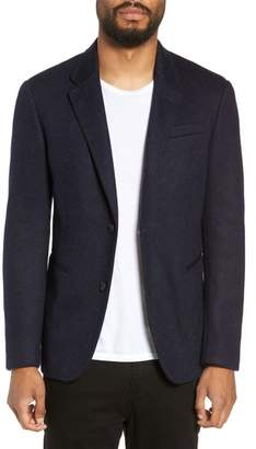 John Varvatos Piped Wool Sport Coat