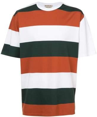 Marni block striped T-shirt